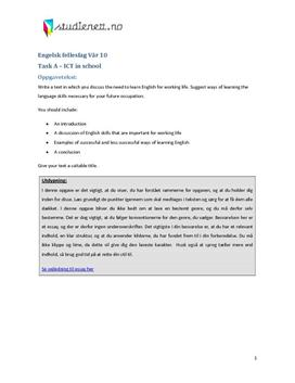 3a. Essay: Learn English for working life