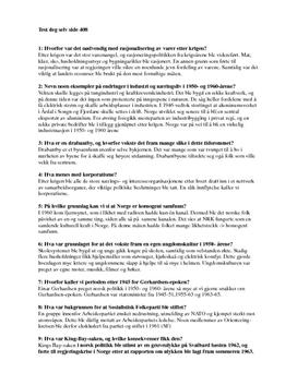 Test deg selv side 408 - tidslinjer 2