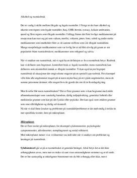 Alkohol og rusmisbruk | Artikkel