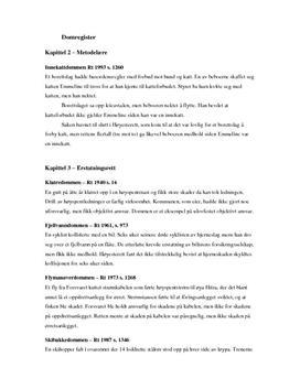 Sammendrag | Rettslære 2