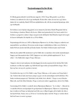 essay oppskrift norsk Lær hvordan du kan skrive et ordentlig godt essay i norsk med studienetts oppskrift oppskriften hjelper deg med alle delene av å skrive et essay synes du det er.