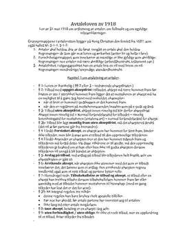 Tolkning av Avtaleloven