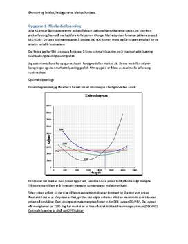 Julia AS | Heldagsprøve | Økonomi og ledelse