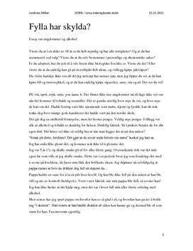 essay kjennetegn norsksidene