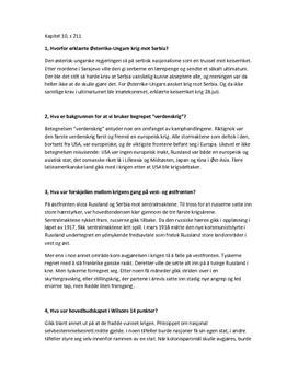 Spørsmål kapittel 10, Tidslinjer 2