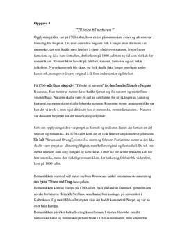 Norsk litteratur fra 1700 til 1800 tallet