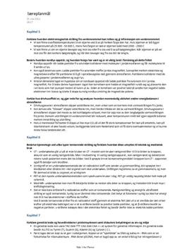Naturfag Svar på lærerplanmål kap 5-11