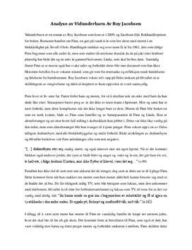 """Analyse av """"Vidunderbarn"""""""