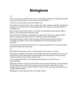 Sjekkpunkter Kapittel 7 Arven