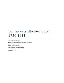 Den industrielle Revolusjon - teknologi