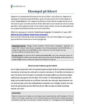 analyse af essay p engelsk