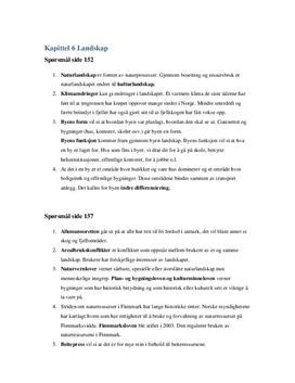 Oppgaver i kapittel 6. Landskap | Terra Nova