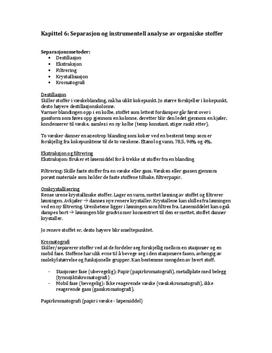 Kjemi 2 - Kjemien Stemmer - Sammendrag af kapittel 6-7