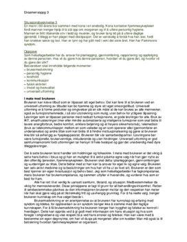 Eksamensbesvarelse i Helseframmende Arbeid: Parkinson