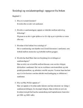 """Oppgaver fra Boken """"Individ og Fellesskap"""""""