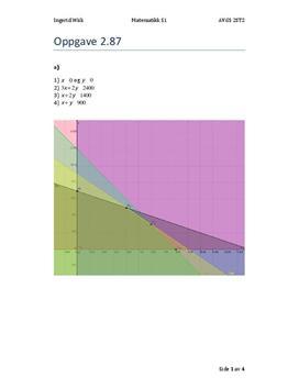 Oppgave 2.87 Sigma S1 - Matematikk Oppgave