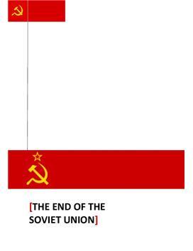 Fordypningsoppgave om Soviet - Internasjonal Engelsk