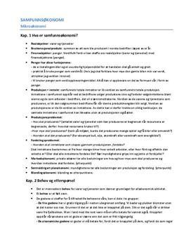 Notater Kap 1-4 Samfunnsøkonomi, Pareto