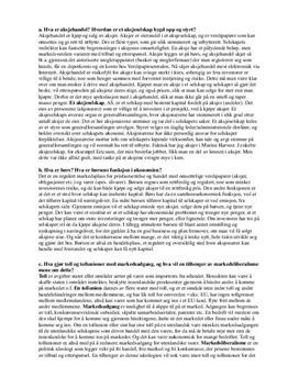 Økonomi og ledelse: Begreper