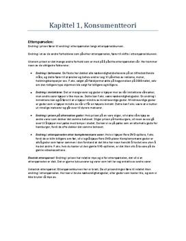 Sammendrag av lærebok i Samfunnsøkonomi 2