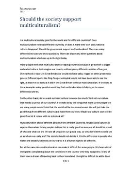 english essay multiculturalism no english essay multiculturalism