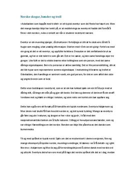 typiske sjangertrekk essay