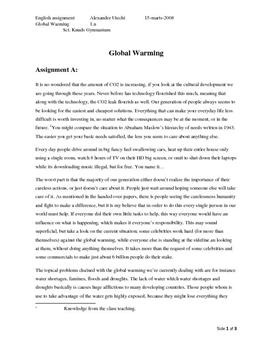 C homework help global warming - can you do my homework for me please