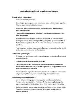 Fokus Samfunnfag - kapittel 6,7 og 9
