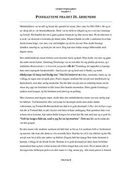 Essay om middelalderen