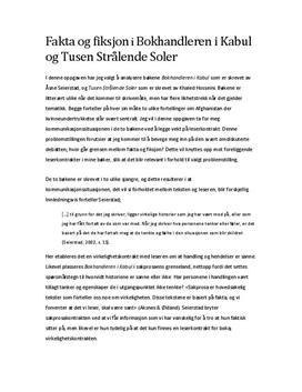 """Fakta og fiksjon i """"Bokhandleren i Kabul"""" og """"Tusen strålende soler"""""""