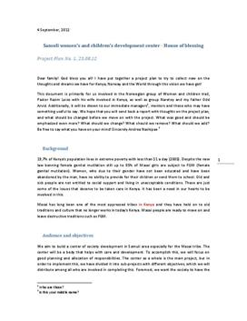 Stiftelsesdokument av bedrift på engelsk