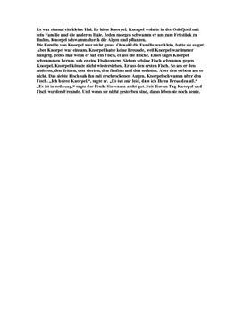Tysk essay: Knorpel