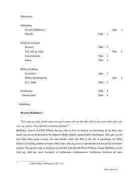 Hobbitten, av J.R.R Tolkien | Analyse