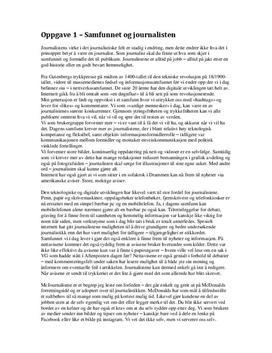 Heldagsprøve i medie- og informasjonskunnskap