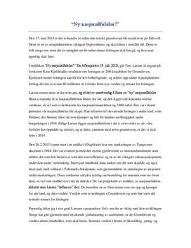 Eksamensbesvarelse 2012   Langsvar oppg. 3
