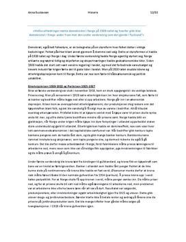 Artikkel | Demokratiet i Norge og Tyskland i 1920
