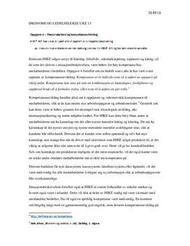 HIKE AS - Kompetanseutvikling | Analyse