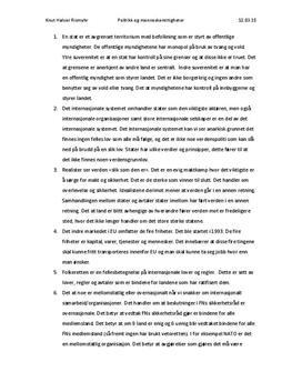 Oppgaver | Internasjonalt samarbeid og sikkerhet