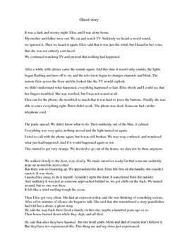 Engelsk historie: Ghost story