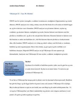 MF&L2 - Case: ViKonsept AS