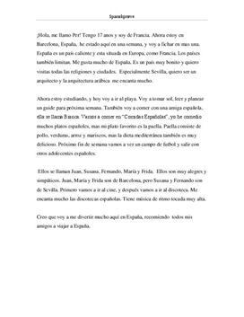 Mi tiempo en España | Fortelling