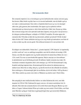Det osmanske rikets fall | Artikkel