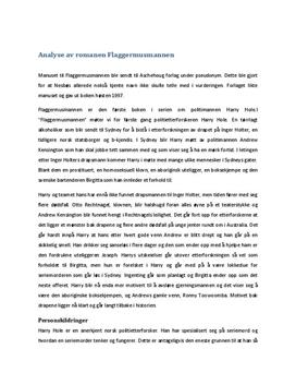 Analyse av Flaggermusmannen