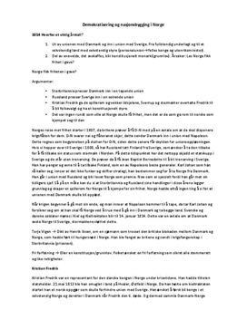 Tidslinjer 1+2 | Kapittel 13 | Sammendrag