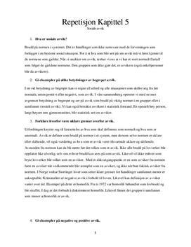 Sosiale avvik | Hva er kultur? | Spørsmål og svar fra boken Mangfold
