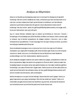 alkymisten resume