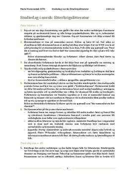 Etterkrigslitteratur | Panorama s. 85