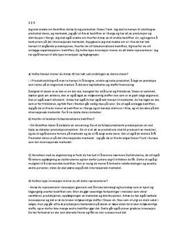 Antax AS | Oppgave 2.2.8 i Innovasjon og internasjonalisering 2