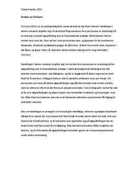 Fiolinane av Jan Roar Leikvoll | Romananalyse