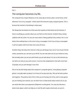 Graduate school admission essay education